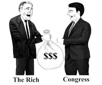 The Rich Bribing Congress