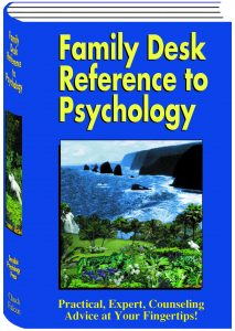 Family Desk Reference To Psychology Book Cover Graphic