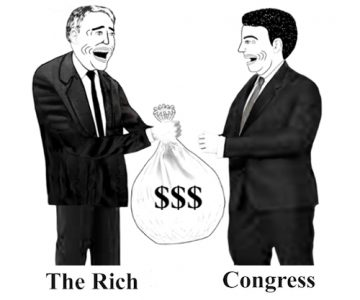 The Rich Bribing Congress